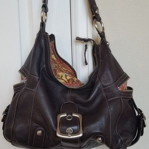 B. Makowsky leather bag